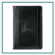Manchester Jr. Zippered Padfolio 0400-06 Custom Debossed, Manchester Branded Padfolios, Corporate Padfolios