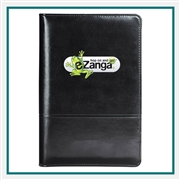 Windsor Reflections Jr. Zippered, Custom Padfolios, Imprinted Padfolio under $10, Leeds Promotioinal Products