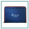 Northwest Zippered Padfolio 0800-10, Northwest Promotional Padfolios, Padfolios Custom Logo
