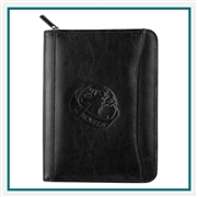 Renaissance Jr. Zippered Padfolio Corporate Logo Applied