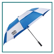 "58"" Slazenger, 2 Section Auto Open With Custom Silkscreen, Slazenger Promotional Umbrellas, Slazenger Corporate & Group Sales"
