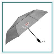 "46"" Cutter & Buck Auto Open/Close Vented Umbrella 2050-84 Custom Logo"