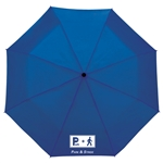 44 Totes 3 Section Auto Open Umbrella 8850-01, 8850-01, Promo Umbrellas, Promotional Golf Umbrellas, Printed Golf Umbrellas