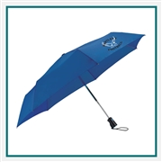 44 Totes 3 Section Auto Open/Close Umbrella 8850-02, 8850-02, Promo Umbrellas, Promotional Golf Umbrellas, Printed Golf Umbrellas