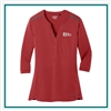 OGIO Ladies Fuse Henley Shirt with Custom Embroidery, OGIO Custom Shirt, OGIO Corporate & Group Sales