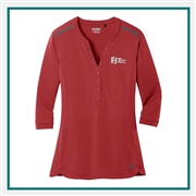 OGIO Ladies Fuse Henley Shirt LOG132, OGIO Promotional Shirts, OGIO Custom Logo