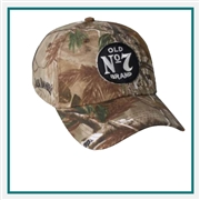 AHEAD Hempsted Camo Cap with Custom Embroidered