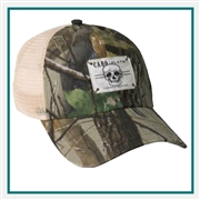 AHEAD Erving Real Tree Mesh Back Cap Custom Logo