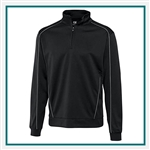 Cutter & Buck Edge Half-Zip Pullover Custom Embroidery