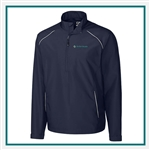 Cutter & Buck Men's Beacon Half Zip Jacket Custom Embroidered
