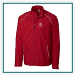 Cutter & Buck Men's Beacon Full-Zip Jacket Custom Embroidered