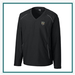 Cutter & Buck Men's Beacon V-neck Windshirt Custom Embroidered