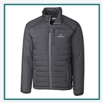 Cutter & Buck Men's Barlow Pass Full Zip Jacket with Custom Embroidery, Cutter & Buck Custom Jackets, Cutter & Buck Corporate Logo Gear