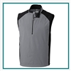 Cutter & Buck Men's Summit Half Zip Vest Custom Embroidered