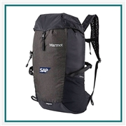 Marmot Kompressor Pack Custom Embroidery