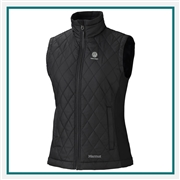 Marmot Women's Kitzbuhel Vest with Custom Embroidery, Marmot Custom Thermal Vests, Marmot Custom Logo Gear