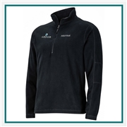 Marmot Men's Rocklin Half Zip Pullover with Custom Embroidery, Marmot Custom Fleece Pullovers, Marmot Custom Logo Gear