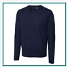 Cutter & Buck Men's Douglas V-neck Sweater Custom Embroidered