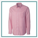 Cutter & Buck Men's L/S Epic Easy Care Tattersall Shirt Custom Embroidered