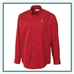 Cutter & Buck Men's L/S Epic Easy Care Fine Twill Shirt Custom Embroidered