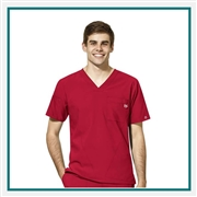 WonderWink Men's W123 V-Neck Scrub Top Custom Embroidered