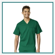 WonderWink Men's Pro V-Neck Scrub Top Custom Embroidery