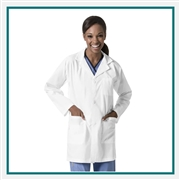 "WonderWink Unisex Origins 33"" Student Lab Coat Custom Embroidery"