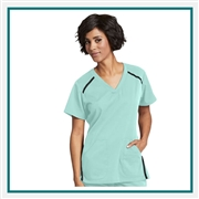 Grey's Anatomy L Harmony Scrub Top Custom Logo