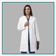 "WonderWink Women's 38"" Lab Coat Custom Embroidery"