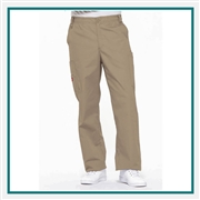 Dickies Men's EDS Signature Zip Fly Pull On Scrub Pant Custom Embroidery