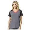 Carhartt Cross Flex Color Block V Neck Scrub Custom Branded