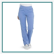 Dickies Women's Balance Mid Rise Pull-On Scrub Pant Custom Embroidery