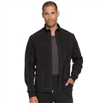 Dickies Men's Zip Front Scrub Jacket Custom Embroidery