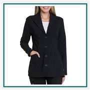 Dickies Women's Notched Lapel Lab Coat Custom Embroidered