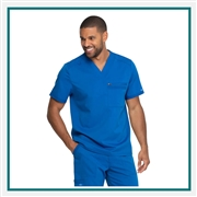 Dickies Men's Balance V-Neck Scrub Top Custom Embroidery
