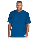 Skechers Sport V Neck Solid Scrub Top Custom Branded