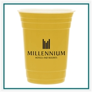 16 Oz Super Saver Fill Up Cup with Custom Printed Logo, 16 Oz. Double Wall Cup Custom Logo Cup, Custom Logo Drinkware, Drinkware Corporate