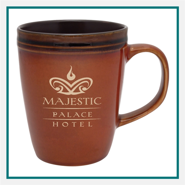14 oz. Antigua Ceramic Mug Custom Printed