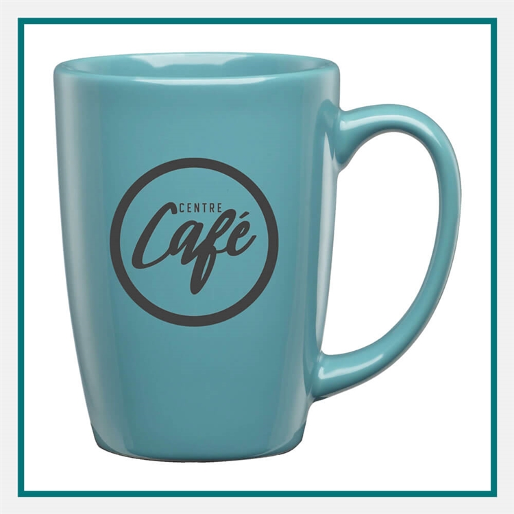 16 Oz. Taza Ceramic Mug Custom Logo