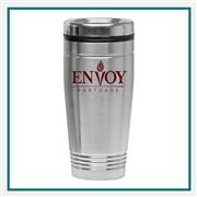 18 oz. Steel City Passport Tumbler with Custom Printed Logo, 18 Oz. Steel City Passport Custom Logo Tumbler, Custom Logo Drinkware, Tumblers Corporate