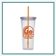 24 Oz. Carnival Cup Collection with Custom Printed Logo, 24 Oz. Carnival Custom Logo Cup, Custom Logo Drinkware