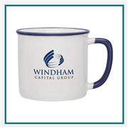 14 oz. Yosemite Ceramic Mug, Custom Logo Yosemite coffee Mug, Glass America Item Number 88144, Custom printed mugs