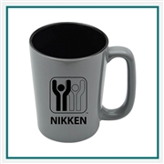 16 oz. SLAT Ceramic Ceramic Mug, Custom Logo SLAT coffee Mug, Glass America Item Number 33300, Custom printed mugs