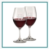 Riedel Ouverture Red Wine Set of Two 16754E/S2, Riedel  Custom Glasses, Promo Wine Glasses