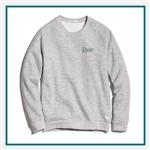 Marine Layer Ladies Sherpa Crew Pullover Custom Embroidery