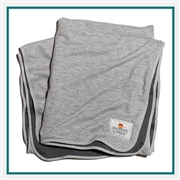 Marine Layer Signature Fleece Blanket XBL1 Printed Logo