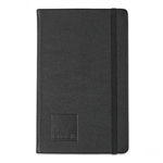 Moleskine Leather Ruled Large Notebook Deboss Logo