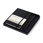 Moleskine Notebook and GO Pen Gift Set Custom Logo