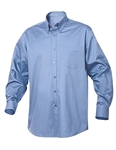 Clique Men's L/S Carter Twill Shirt MNW00003 Custom Embroidered