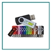 2GB Swivel Promotional Flash Drive, Promotional Swivel Flash Drive, Custom Logo Flash Drives, Printed USB Flash Drives Fast Turnaround